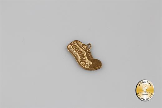 Anhänger; 14 Karat Gold, Schuh