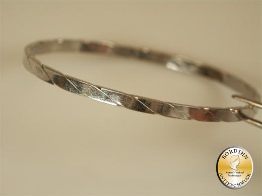 Armreif; Silber 835, um 2000