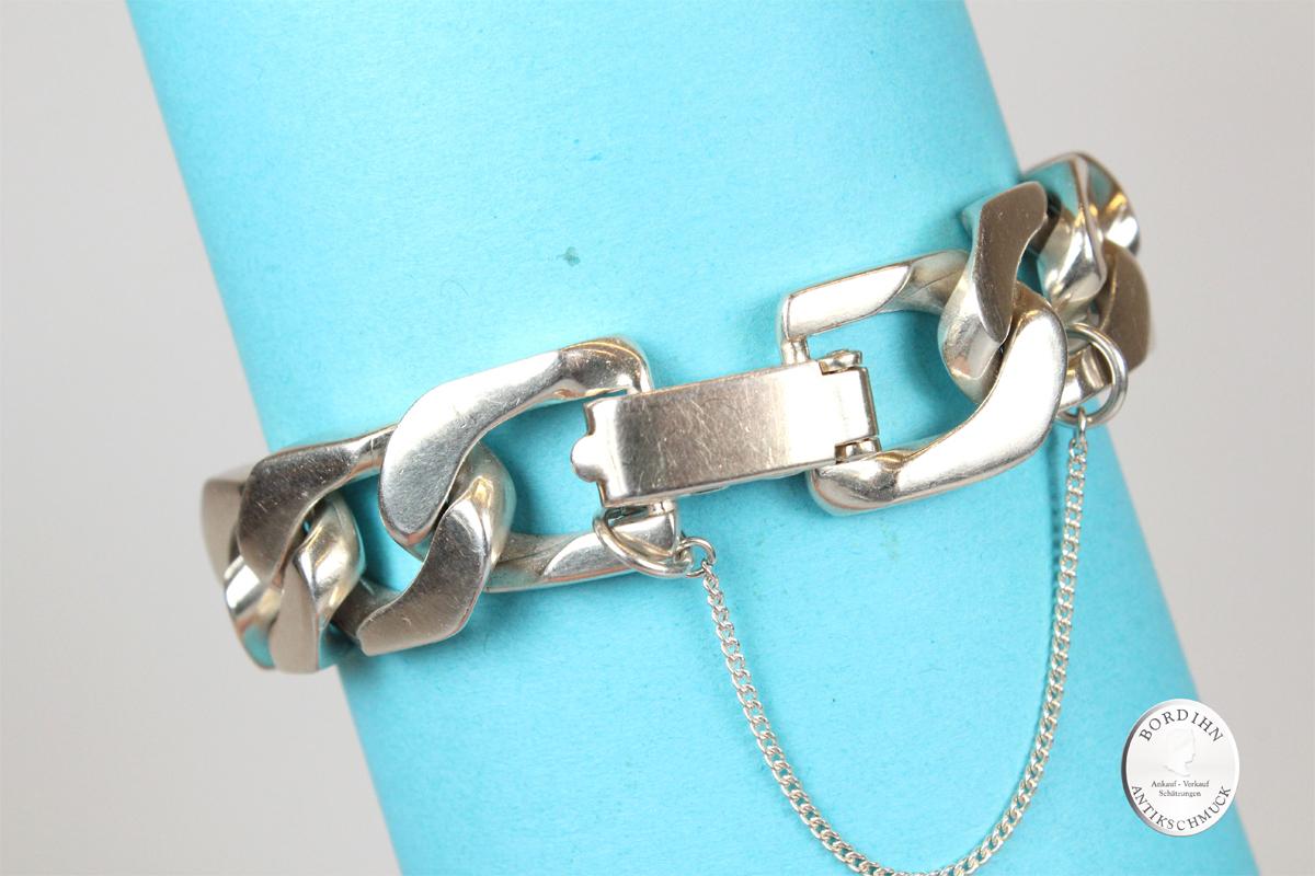 Armband 925 Sterling Silber Gliederarmband Armkette Schmuckkette