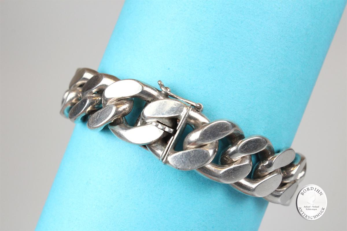 Armkette 835 Silber Glieder Armband Gliederarmband Schmuckarmband