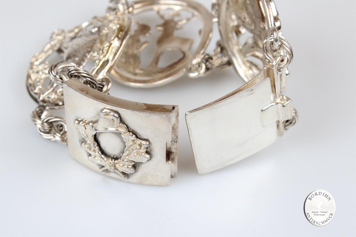 Armband 835 Silber Trachtenarmband Schmuckarmband Schmuck Tracht antik