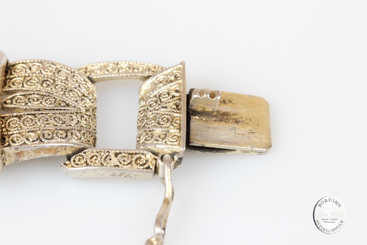 Armband 925 Silber Theodor Fahrner Schmuck signiert antik Geschenk