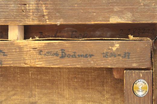 Ölbild Gottlieb Bodmer Isartorplatz München Biedermeierzeit Ölgemälde
