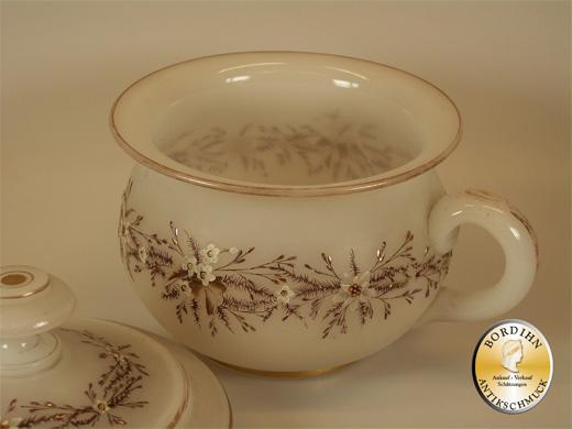 Nachttopf Porzellan Keramik Glas um 1910 Bayern Rarität Antiquität