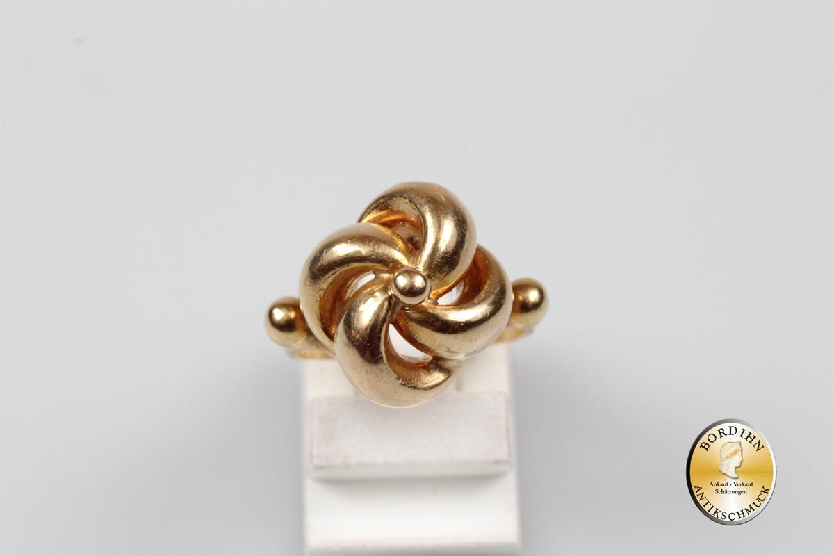 Ring; 18 Karat Gold, Knoten | eBay