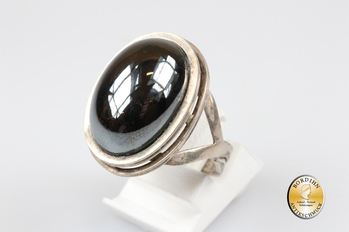 Ring 835 Silber Farbstein Fingerring Silberring Schmuckring Schmuck