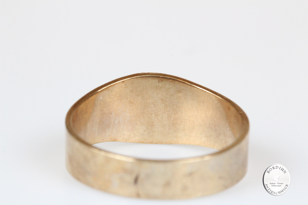 Ring 8 Karat Gold Türkis Goldring Schmuckring antik Schmuck Geschenk