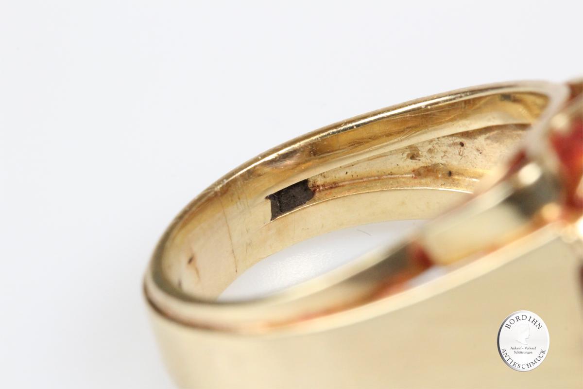 Ring 14 Karat Gold Amethyst Goldring Schmuckring Fingerring Geschenk