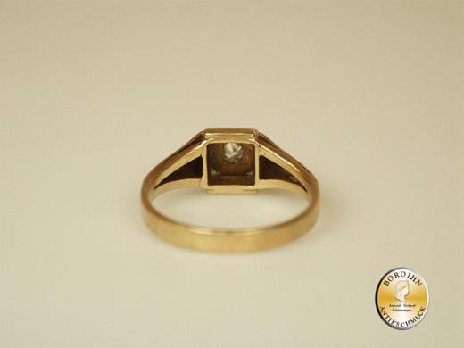 Ring 14 Karat Gold Brillant Fingerring Goldring Edelstein Geschenk