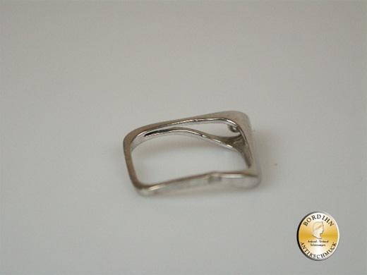 Ring 18 Karat Weissgold ein Brillant Damenring Schmuckring Geschenk