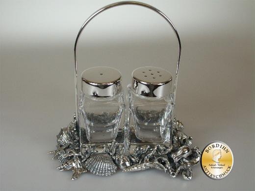 Salz & Pfeffer Streuer; 925 Sterling Silber, neu