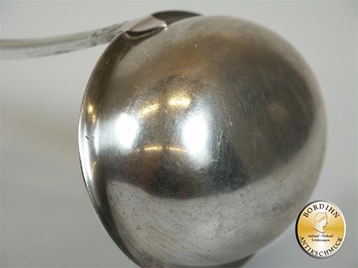 Schöpflöffel; Silber 800 (Gravur W, Anker), Jugendstil