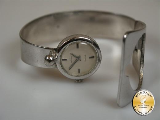 Spangenuhr Silber 835 Marke Balave Armbanduhr Damen Uhr Geschenk