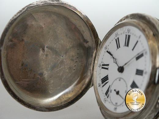 Taschenuhr Silber Legrand Geneve antik mechanisches Werk Sammlerstück