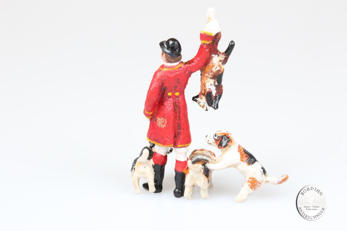 Wiener Bronze, Reiter- Fuchs- Hunde