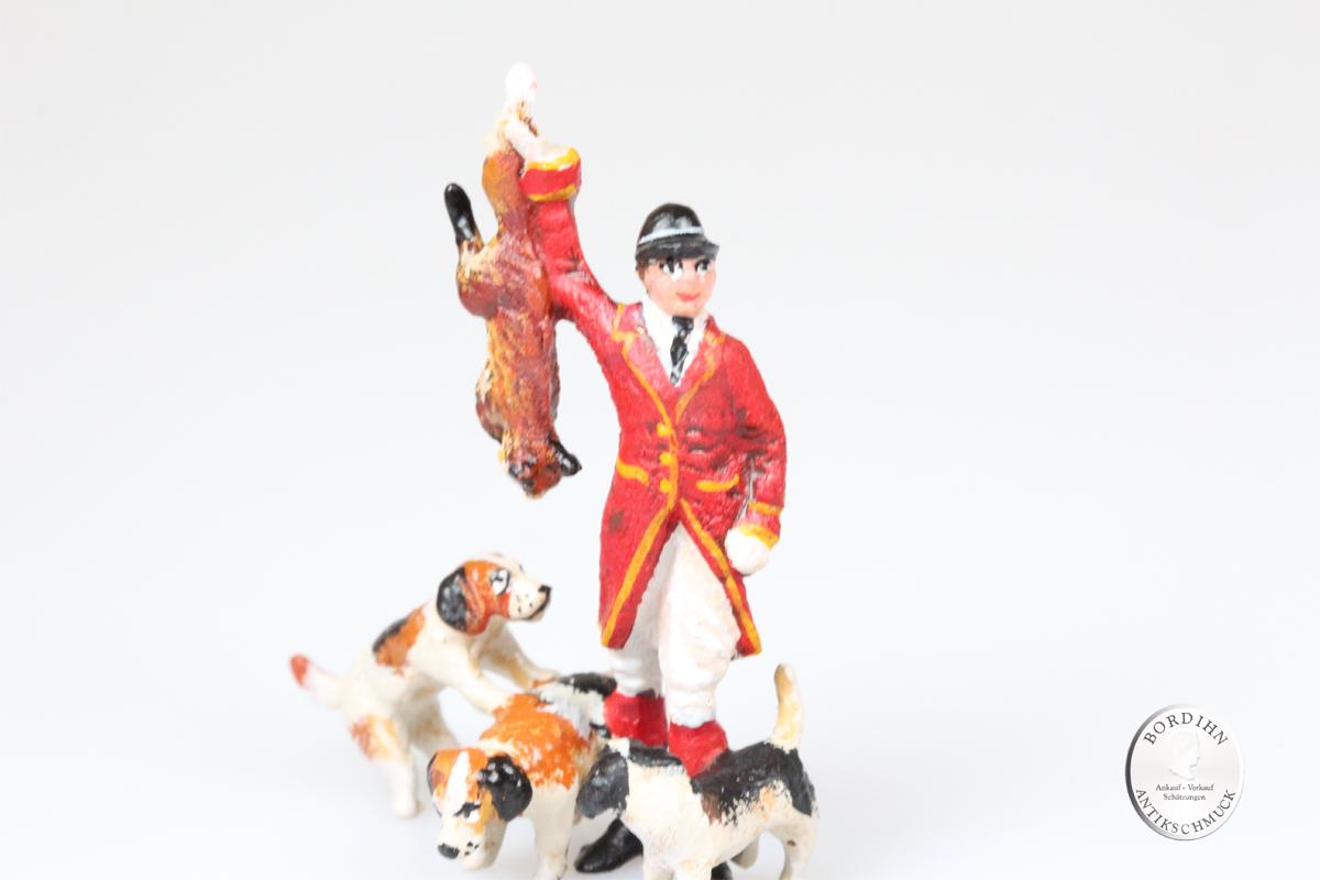 Wiener Bronze Reiter Fuchs Hunde Kunst Sammler Figur Fritz Bermann
