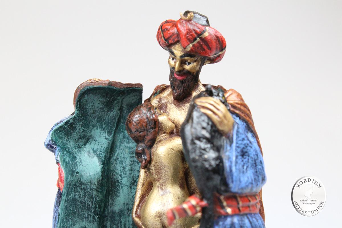 Wiener Bronze Katzenmann Erotica Kleinkunst Original Geschenk Sammler